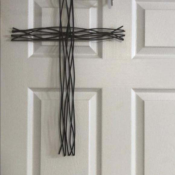 Hobby Lobby Wall Art Home Decor Metal Cross 2 Crosses Poshmark